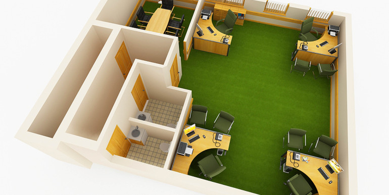 OFFICE CUT FLOOR PLAN